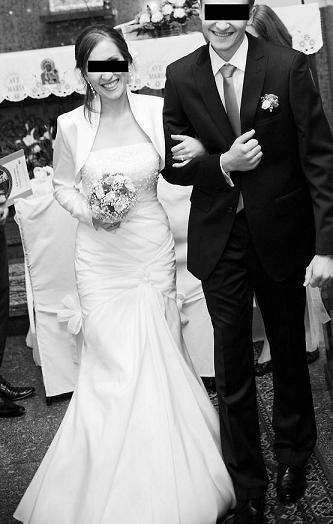 sprzedam suknię ślubn� z salonu euforia we wroc�awiu