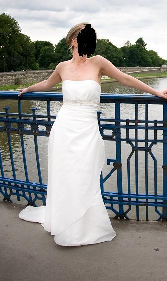 fe49f8d953 Suknia ślubna Suknia ślubna ASPERA kolor  ivory   śmietanka rozmiar  36