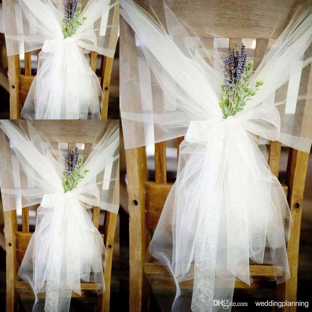 Dekoracje Krzeseł Na ślub I Wesele Galeria Zdjęć