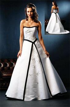 f0ea0999b6 fioletowa suknia ślubna biała suknia ślubna z czarnymi wstawkami