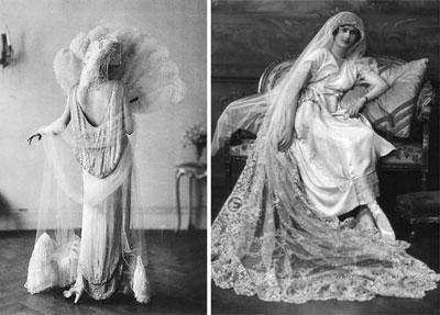 81ee2f1a Suknie ślubne na przełomie dekad - historia mody ślubnej