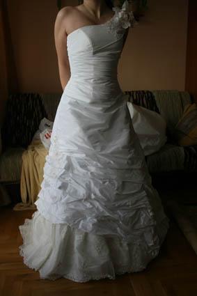 c6ead7d60a Suknia ślubna suknia ślubna dwuczęściowa kolor  śmietanowy rozmiar  38 40