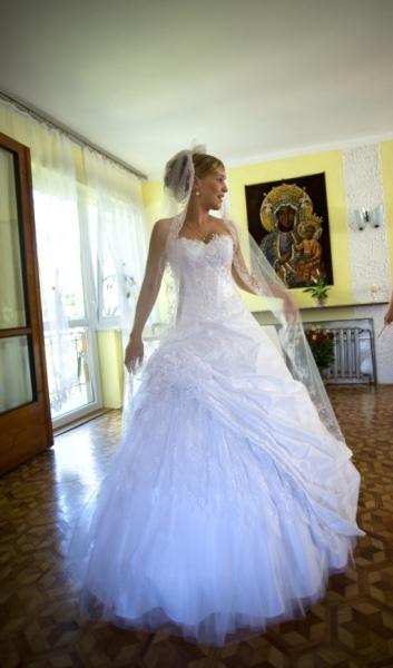 Biała Suknia ślubna Emmi Mariage Romance Rozm3436 Wzrost 160