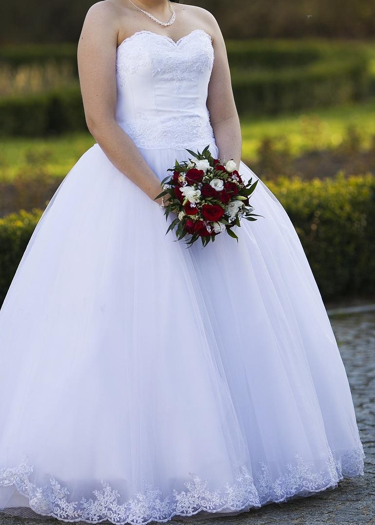 8a4001318c Suknia ślubna Biała suknia ślubna rozm.38-40 kolor  Biel rozmiar  38