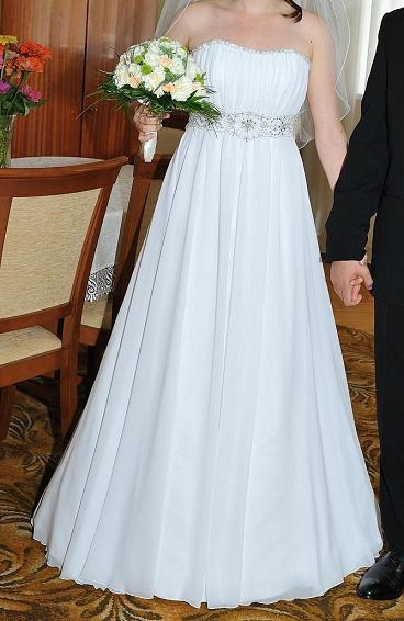 Delikatna Zwiewna Suknia ślubna Przemyśl Mazowieckie Suknie