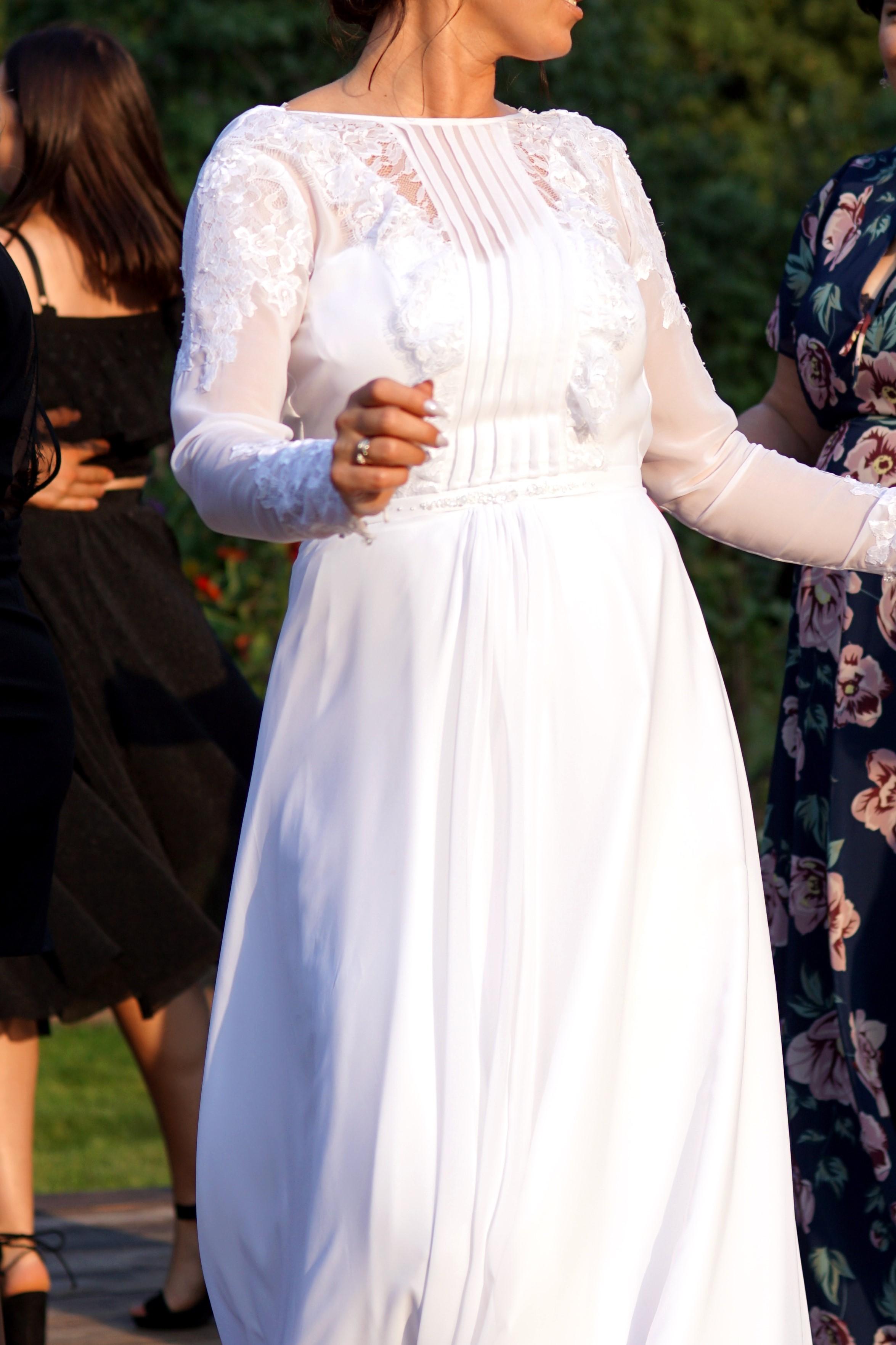 14e7add02d Piękna Biała suknia Boho Iwona Kutnik Atelier - Janow Lubelski ...