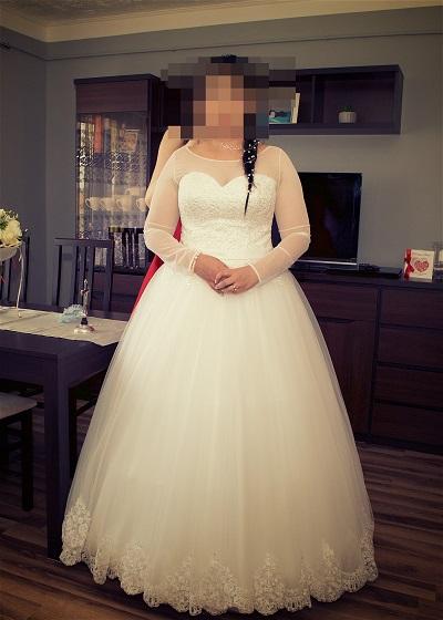 d41f152f2b Bardzo Piękna suknia ślubna 42 44 - Szczecin - Zachodniopomorskie AS-12