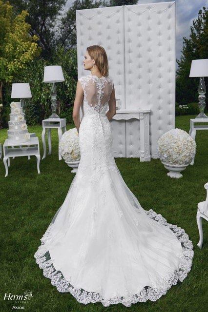 108c406536 Suknia ślubna Piękna suknia syrenka Herms Akron kolor  Ivory rozmiar  36 38