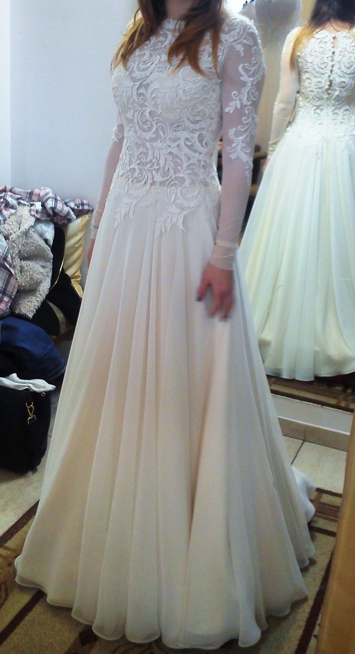 Przepiękna Suknia ślubna Gala Model Keira Szczecin