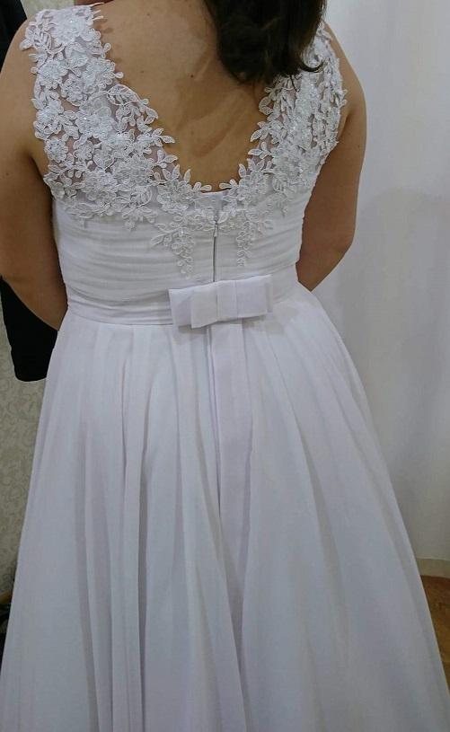 Modne ubrania Śliczna suknia ślubna + szal na ramiona, 800 zł do negocjacji YL62
