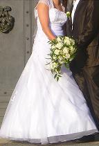 0a7fb4e044 Suknia ślubna Sprzedam Piękną Suknie ślubną z kolekcji 2011 kolor  Biała  rozmiar  36