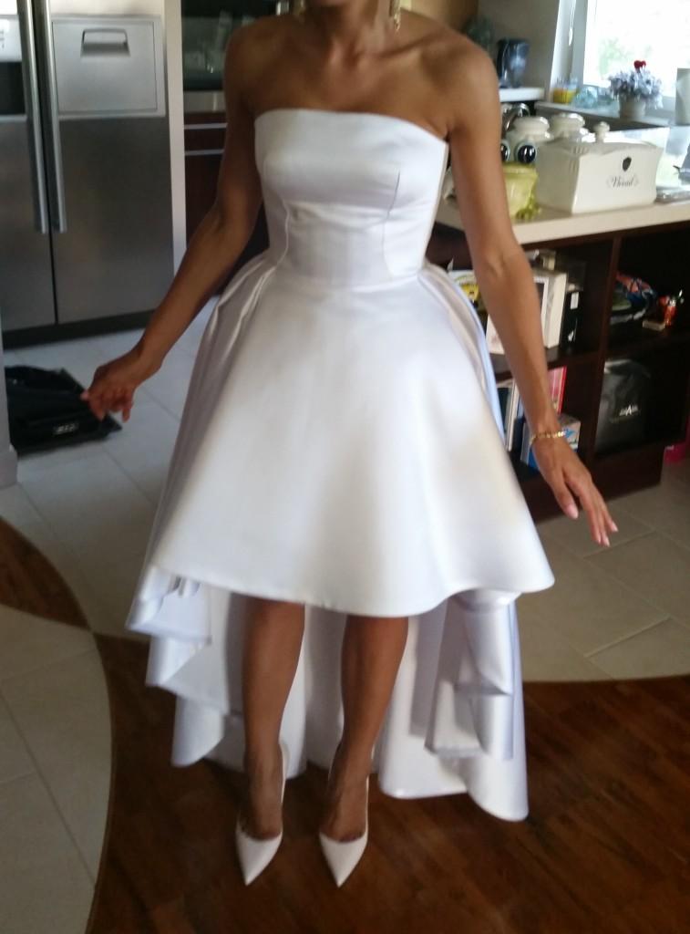 b75ae61f5e Sprzedam przepiękną suknię ślubną szytą na wzór LaMania - Gdynia ...
