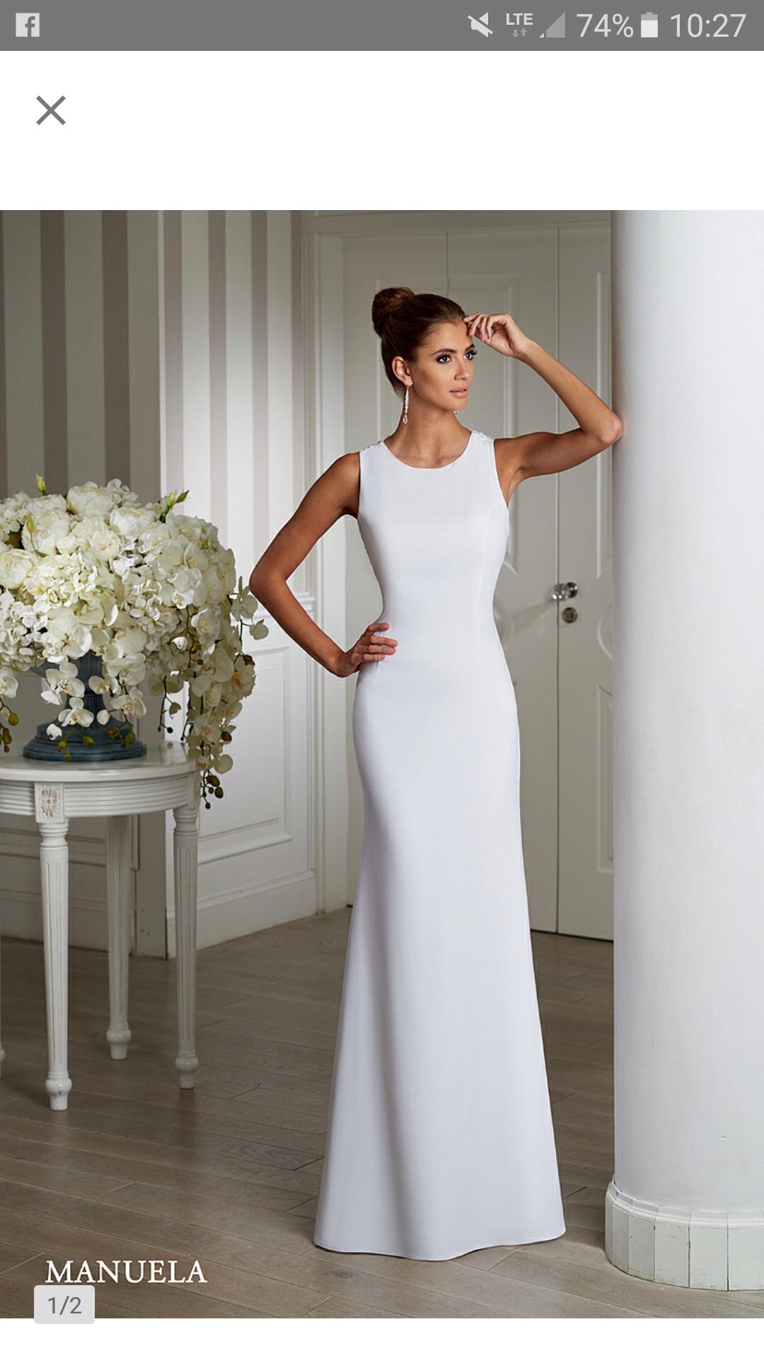 a85e43c9cb Sprzedam suknie ślubna Emmi Mariage rozmiar 36 38 - Brodnica ...