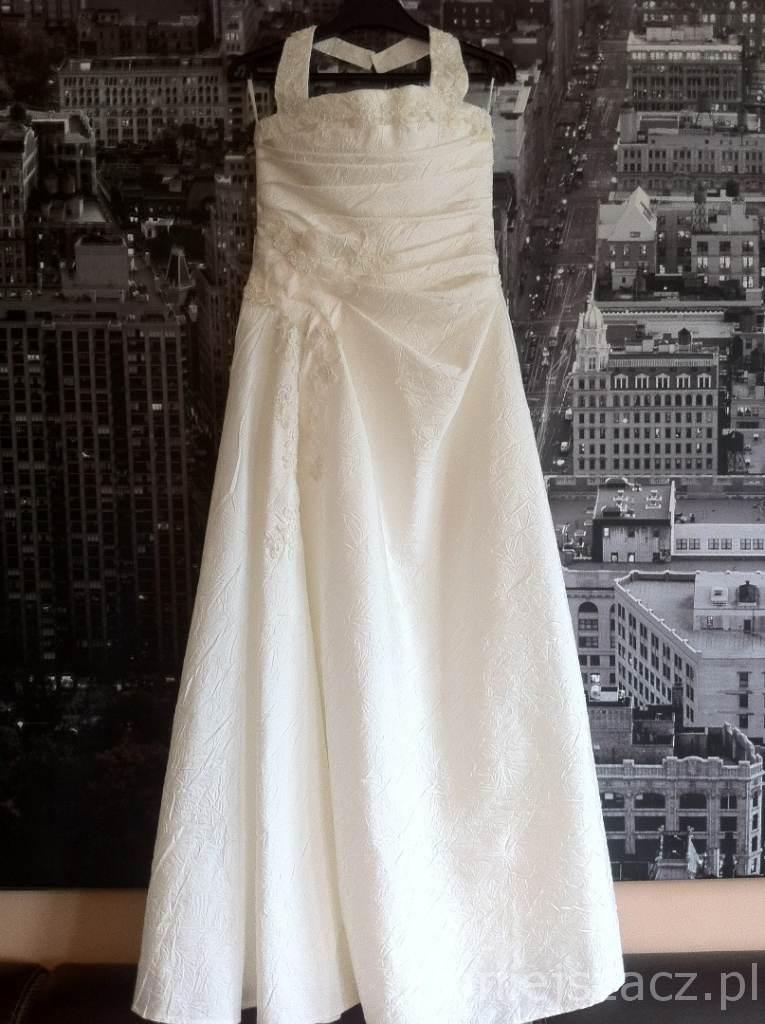 f9545d36f2 Suknia ślubna Sprzedam Suknie Ślubną kolor  ecru rozmiar  38 40