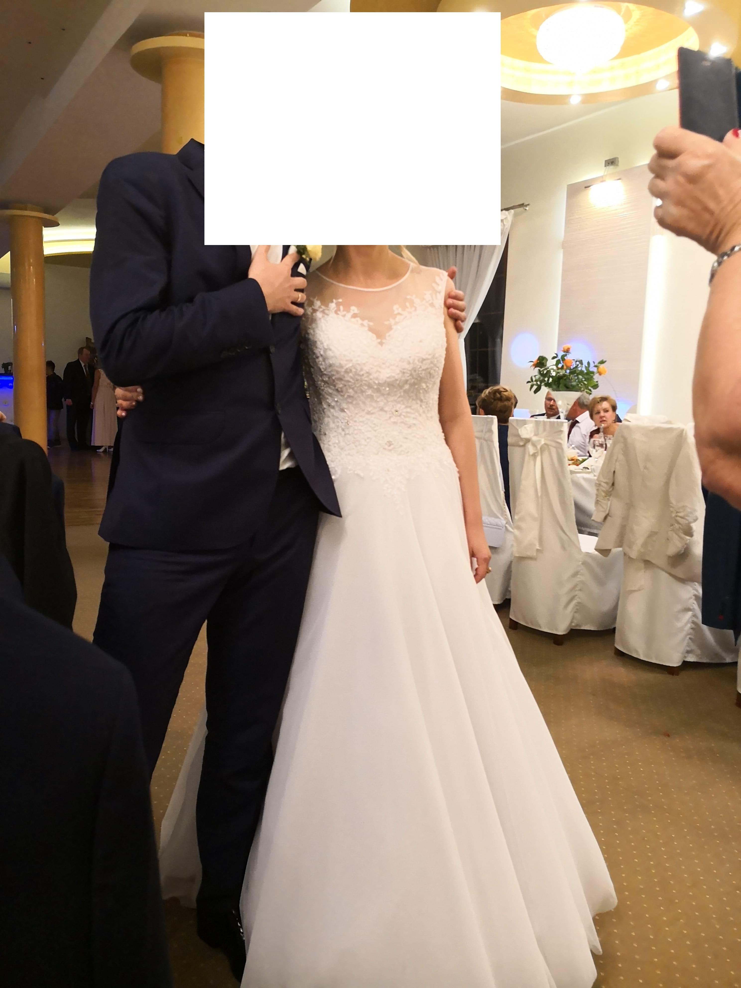 47f5ae35c5 Suknia ślubna Sukienka ŚLUBNA kolor  BIAŁY rozmiar  36-38