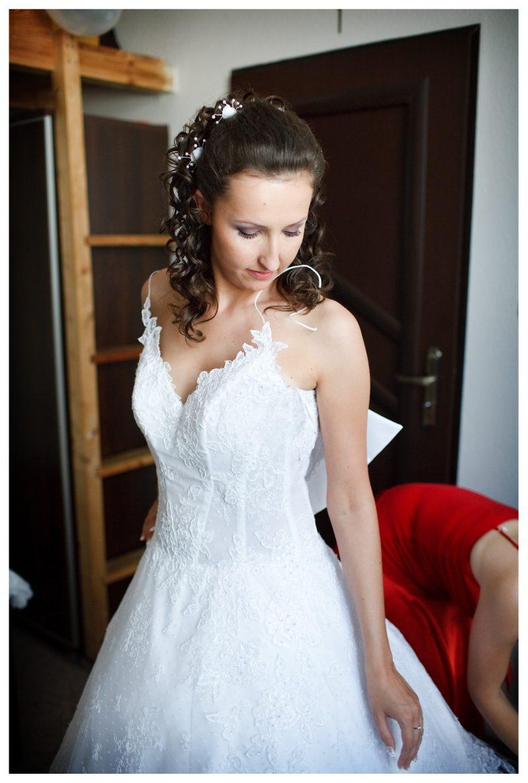Suknia ślubna Agora R 3840 Kryształki Swarowskiego Dodatki