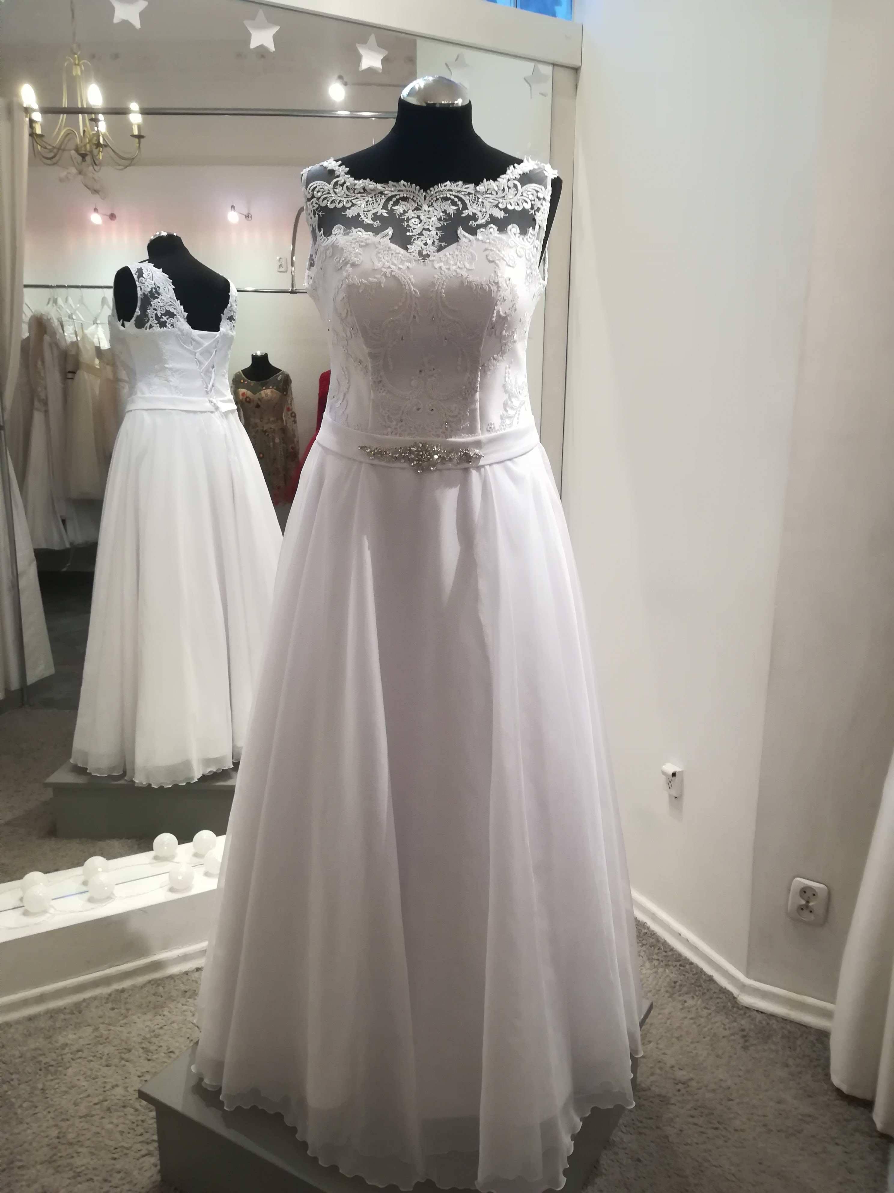 Suknia ślubna Biała Szczecin Zachodniopomorskie Suknie ślubne
