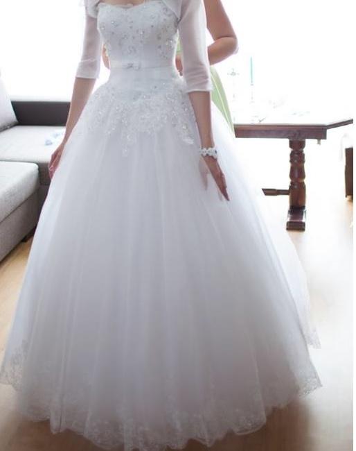 93ffecbfb7 Suknia ślubna dla prawdziwej księżniczki - Gdynia - Pomorskie ...