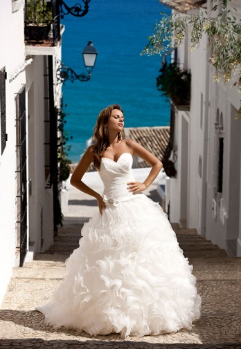 23602a5068 Suknia ślubna Elizabeth Passion E-2494T rozm.36 - Stargard ...