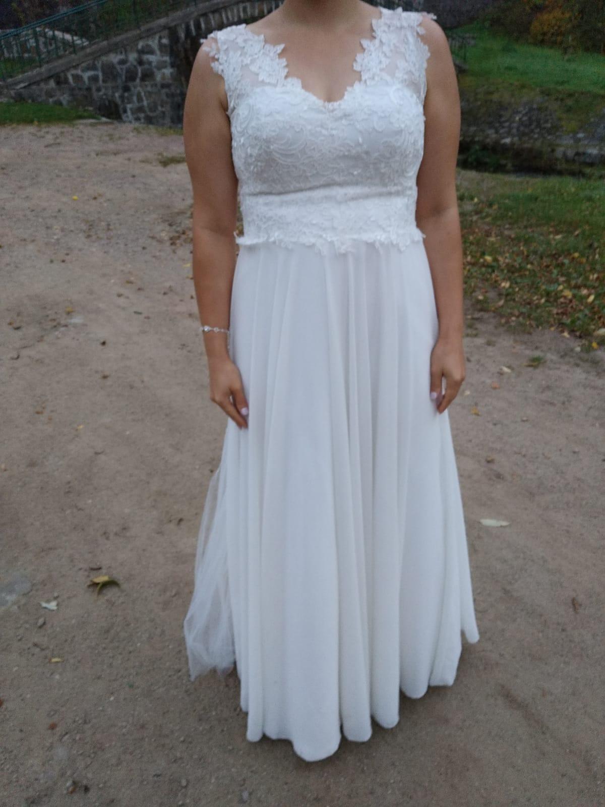 e2cfe0a226 Suknia ślubna i szal z norki - Trzebnica - Dolnośląskie - Suknie ...