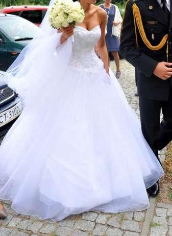Suknia ślubna Sincerity 3656 Princeska Księżniczka Xs 34 Gratisy