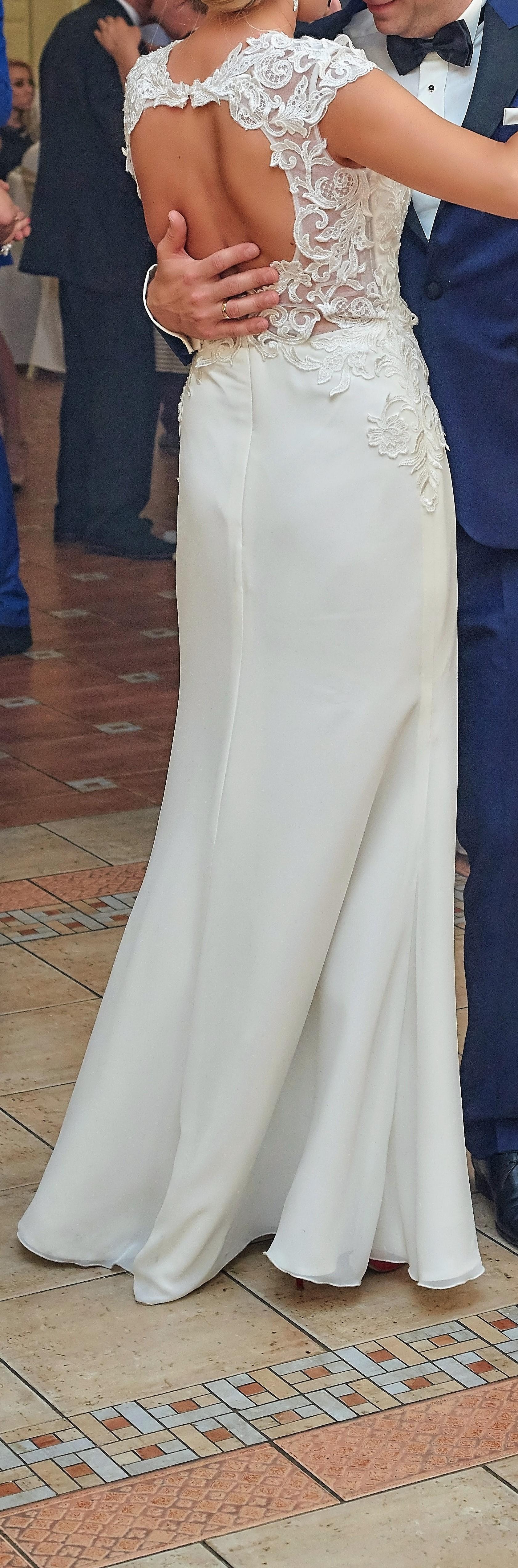 Suknia ślubna Z Odkrytymi Plecami Gdynia Pomorskie Suknie
